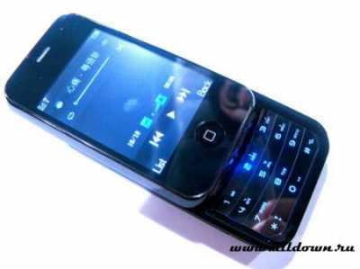 NokiPhone N300i — гибрид N95 и iPhone