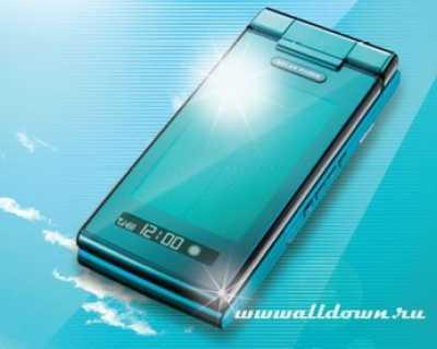 Солнечный телефон от Sharp