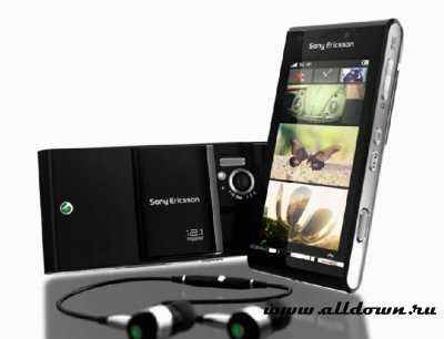 Сенсорный телефон Sony Ericsson Idou с 12 Мп