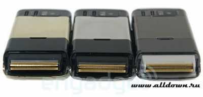 Мобильный телефон Cool758 со интегрированной бритвой