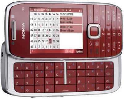 Nokia E75 – официально