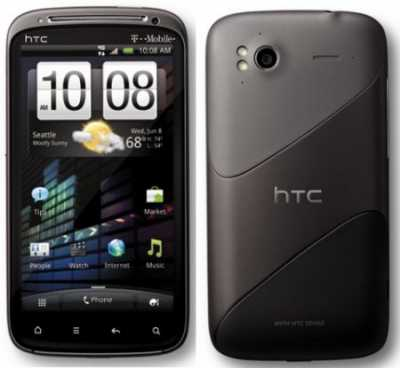 Анонсирована новейший коммуникатор от компании HTC: HTC Sensation