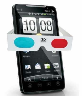 HTC EVO 3D – новейший 2-ядерный телефон с 3D экраном