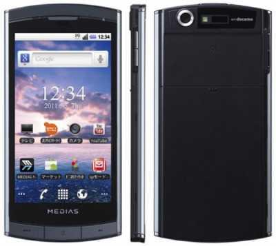 NEC Casio MEDIAS- cамый мелкий телефон