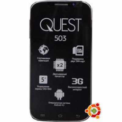 Обзор телефона Qumo Quest 503
