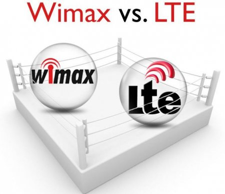 Технологии LTE и WiMAX